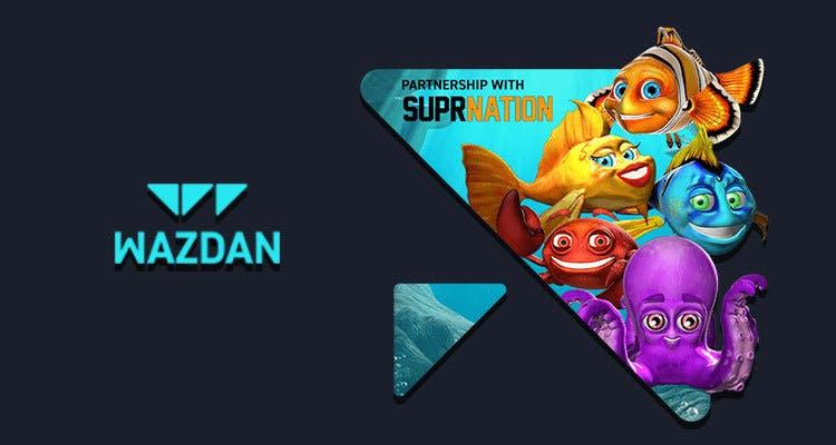 affiche publicitaire dun nouveau partenariat avec wazdan