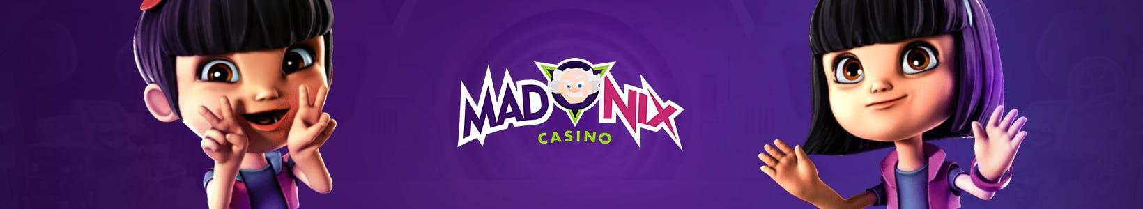 banniere de promotion originale pour madnix casino