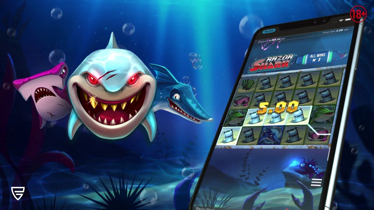 display picture for razor shark push gaming