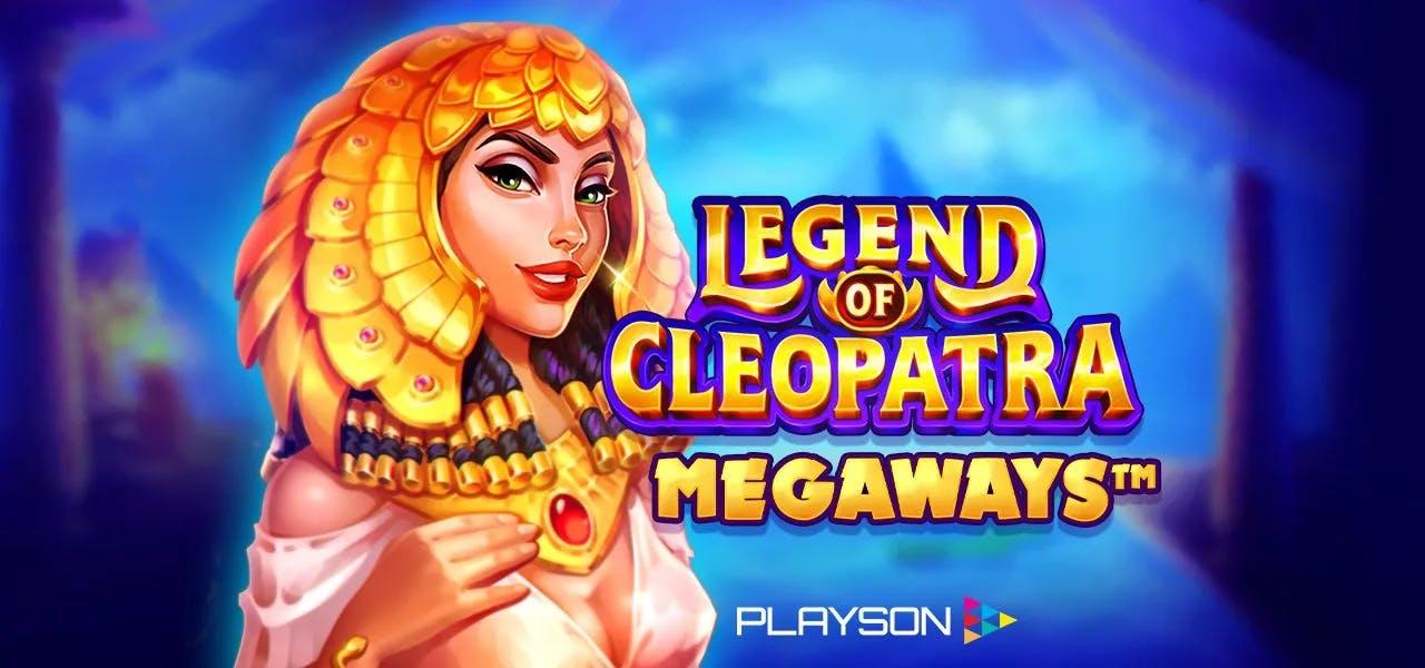 legend of cleopatra megaways image de presentation de la slot de playson