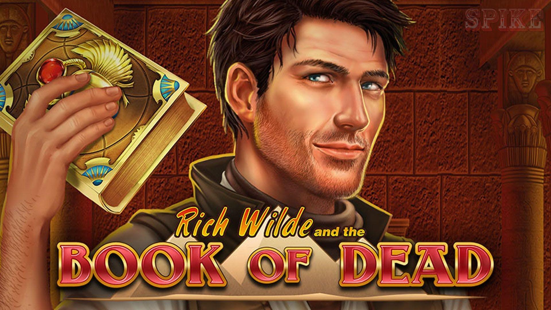 advertising banner de book of dead