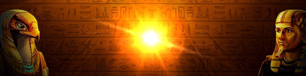 bannière fond d'écran slot book of sun