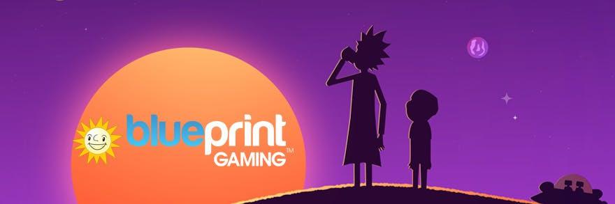 Rick and Morty blueprint gaming banner hd
