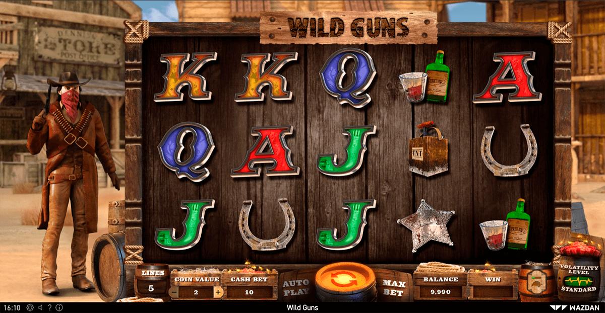 wild guns gameplay page de wazdan