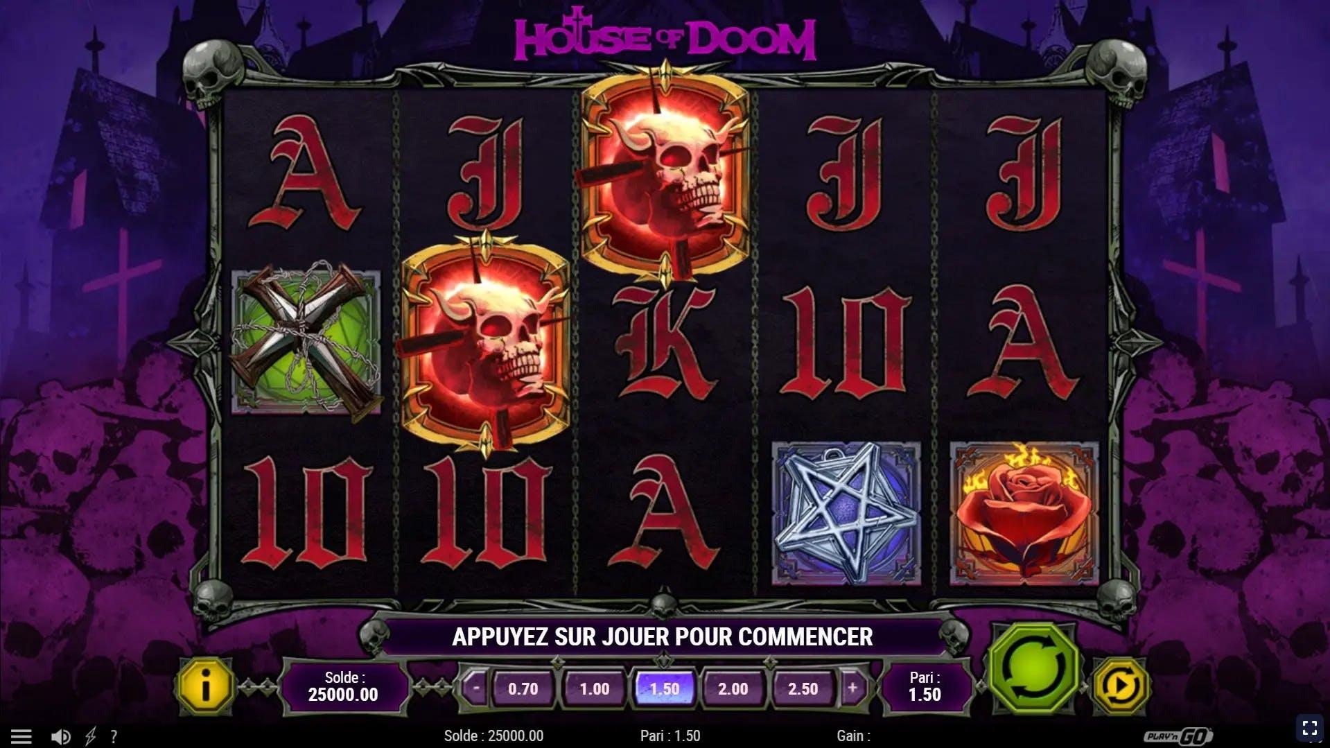 gameplay house of doom playngo