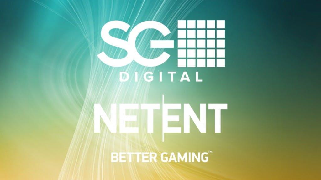 partnership SGDigital and Netent