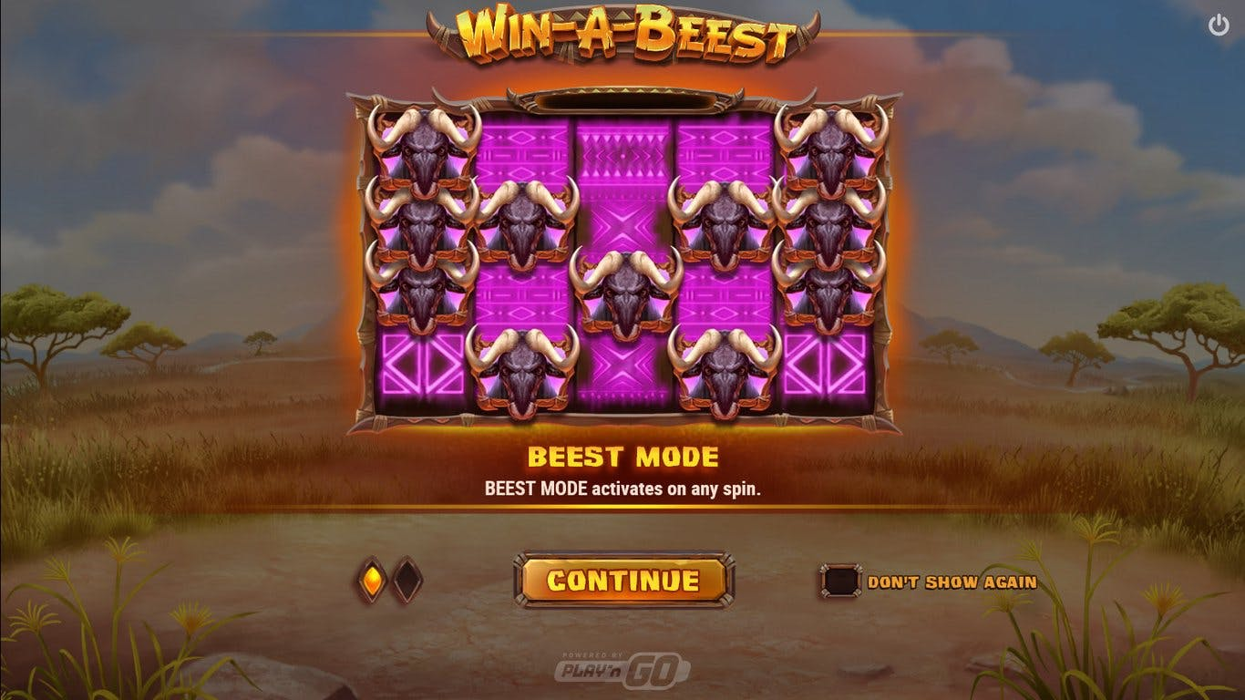Win a Beest slot Advertising picture banner