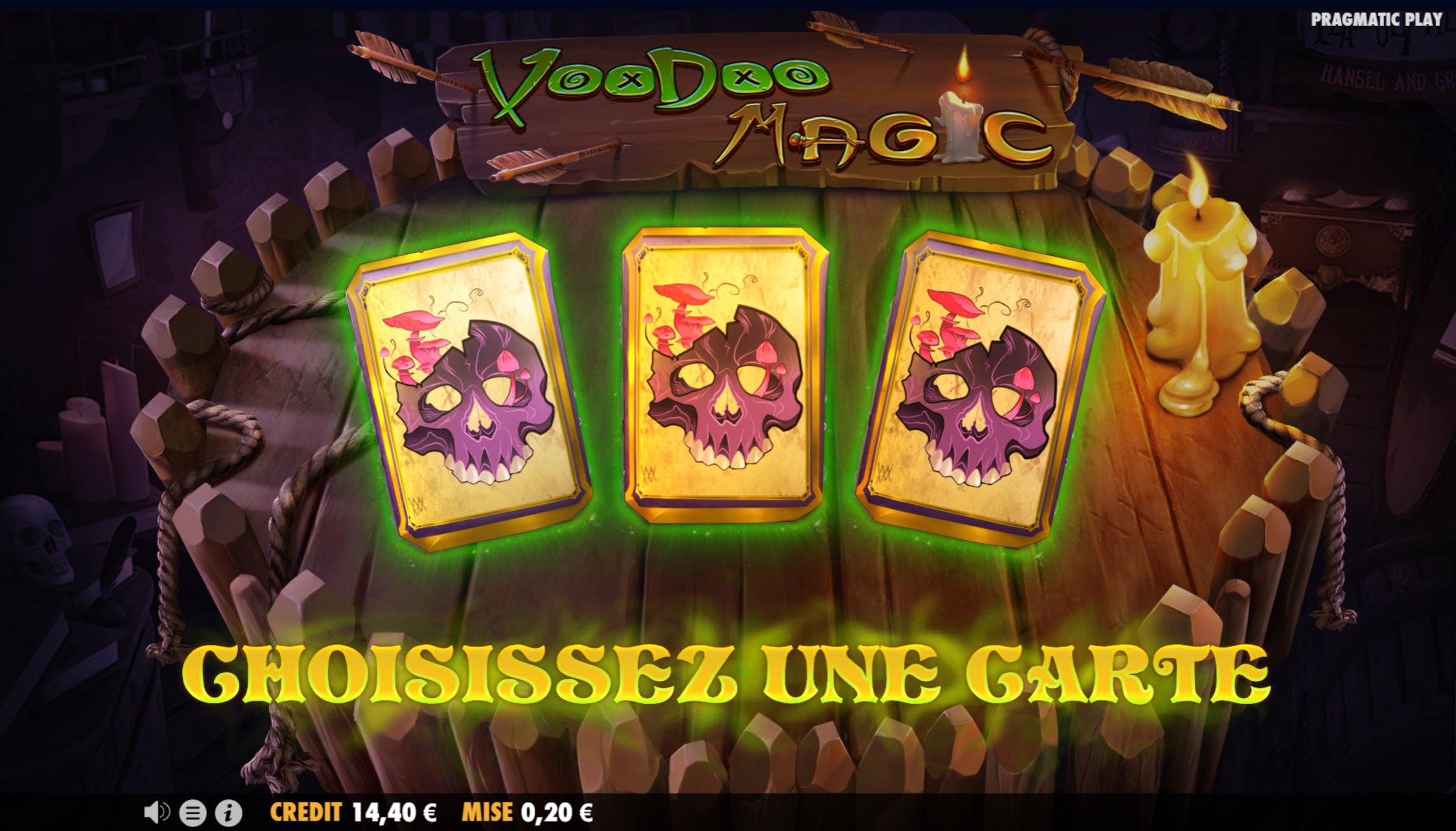 mode bonus voodoo fortune