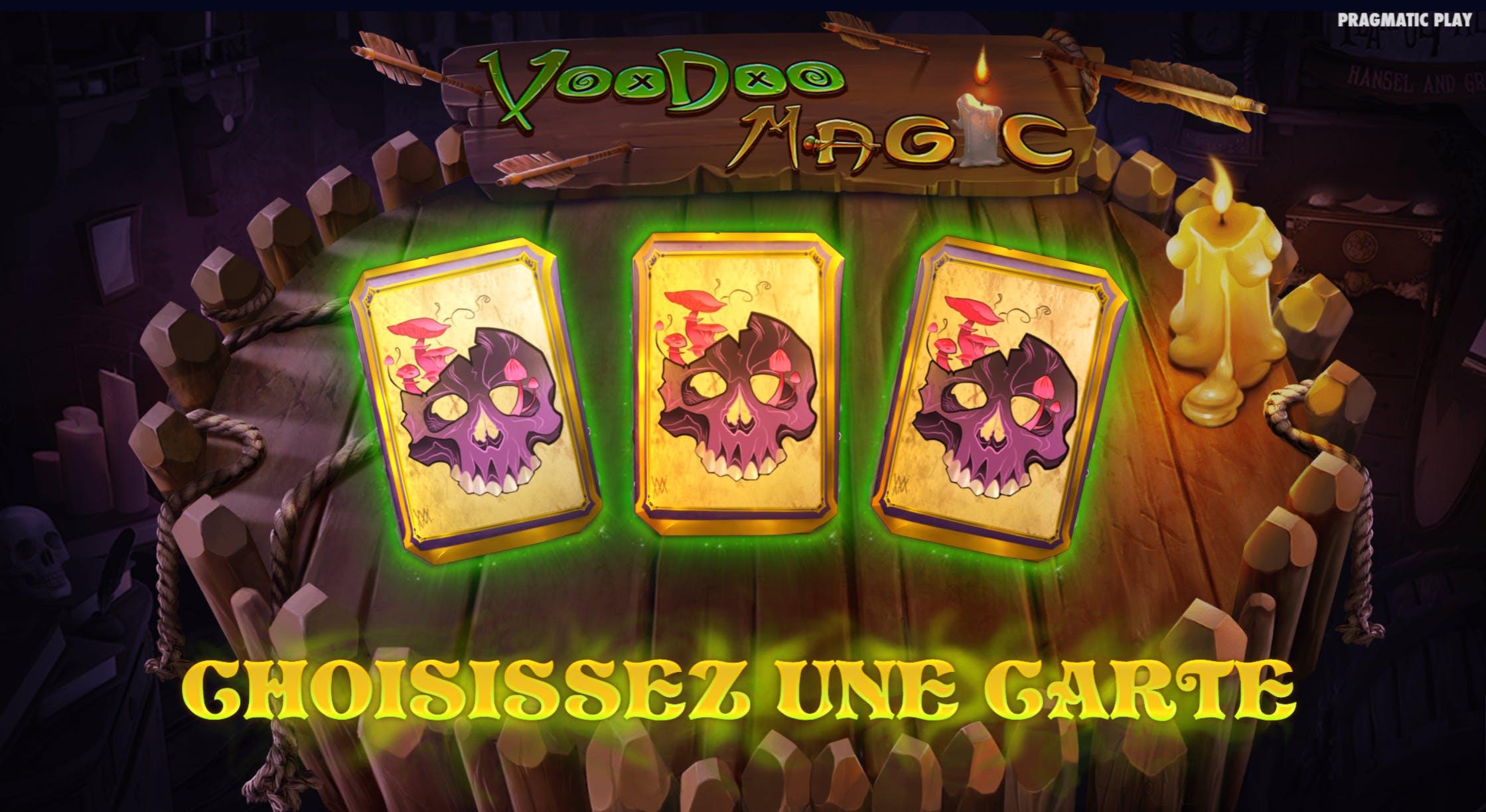 voodoo magic freespins provider pragmatic play gameplay