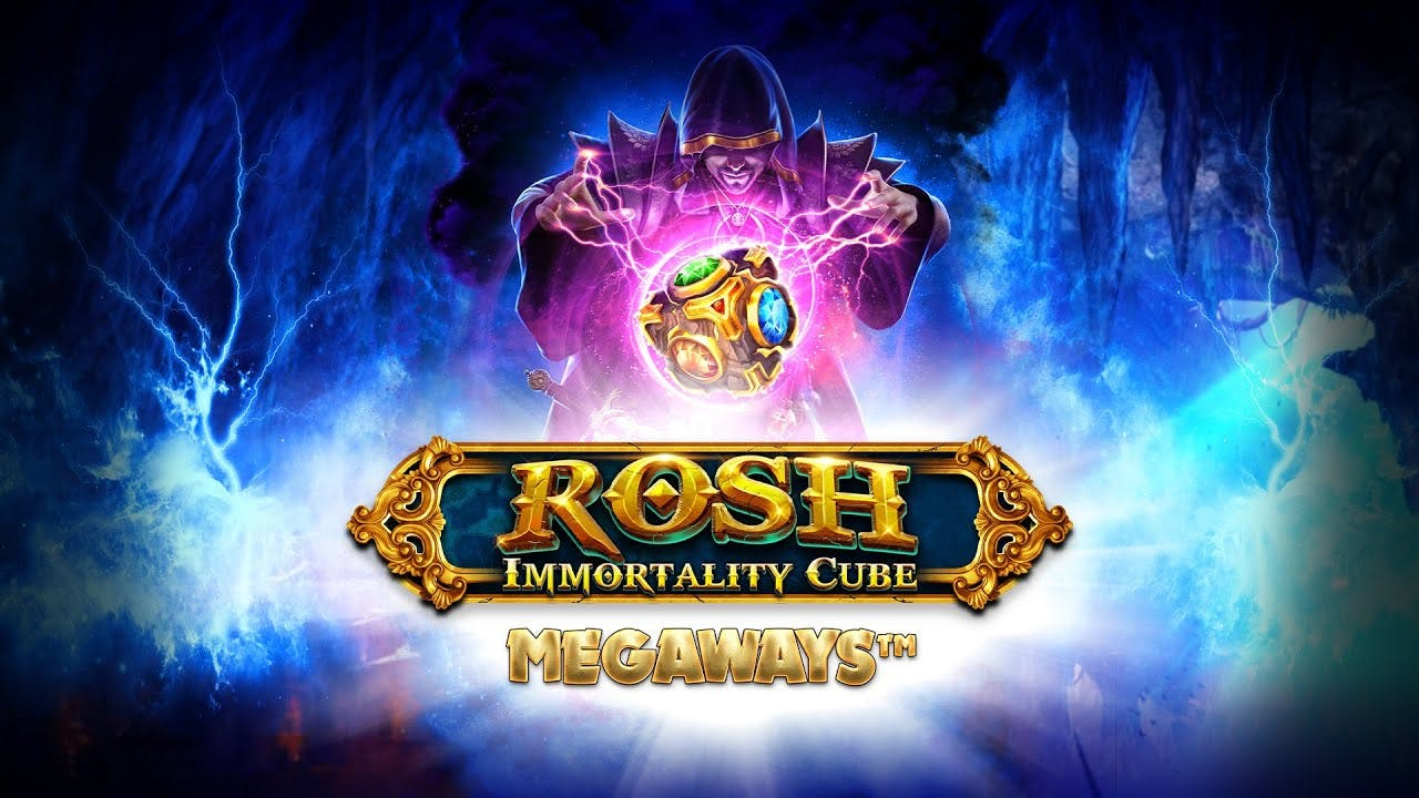 rosh immotality cube gameplay banner megaways