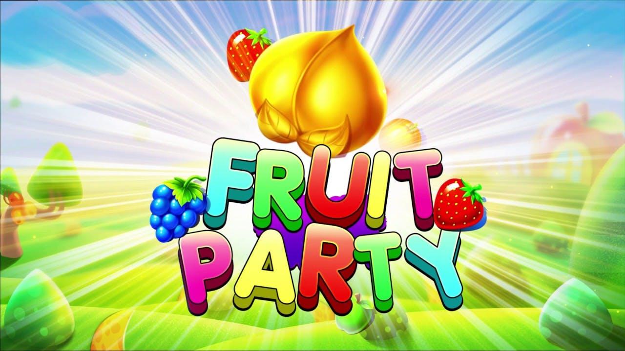 fruit party banner promotionnelle