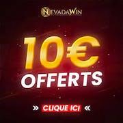 10€ Offerts sur NevadaWin