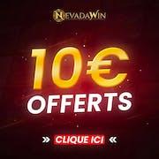 10€ Offerts sur NevadaWin Kagino