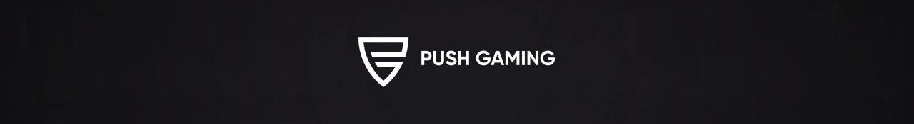 push gaming banniere publicitaire