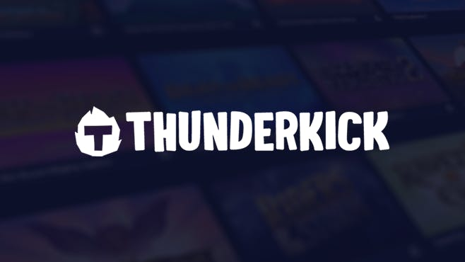 affiche publicitaire originale de thunderkick