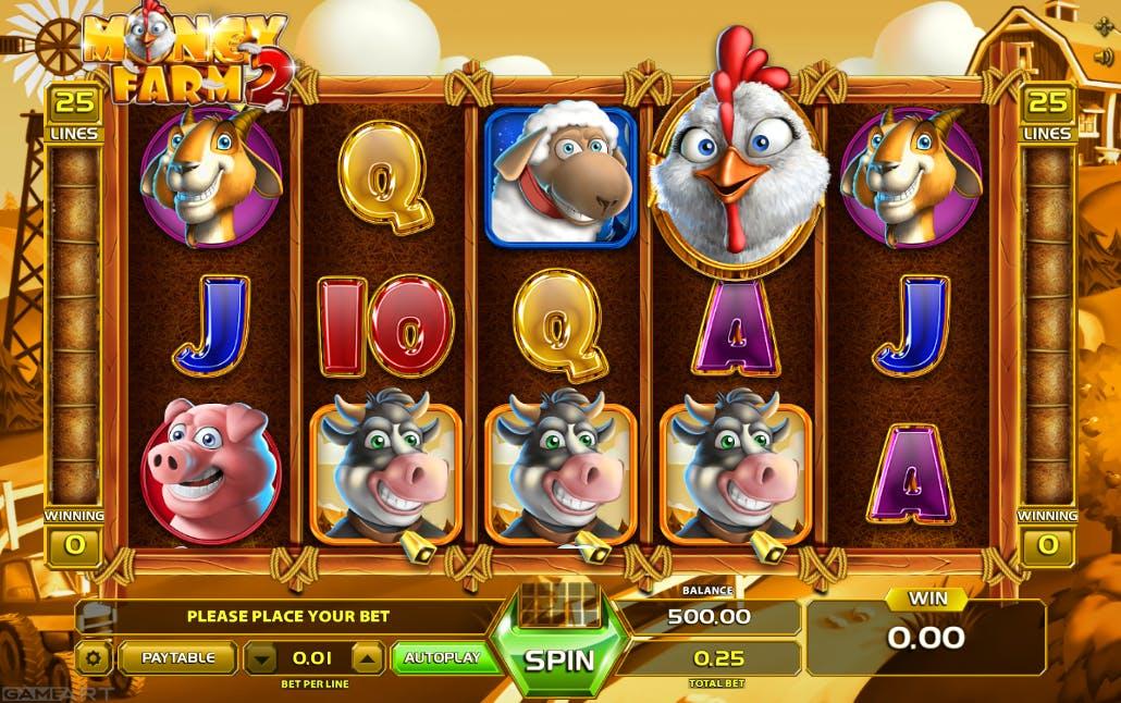gameplay money farm 2 game art