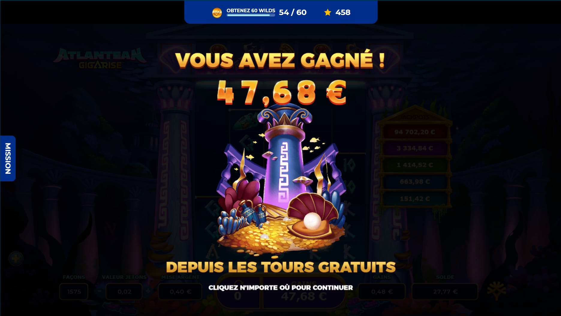 concours prince ali gameplay altlantean gigarise