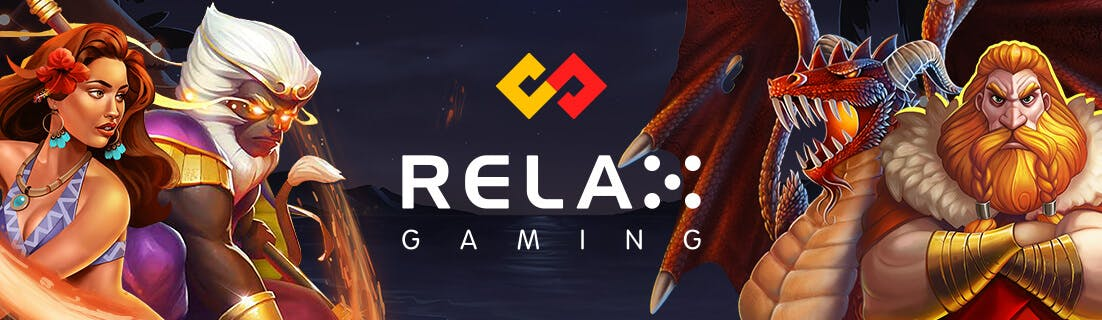 banniere publicitaire pour relax gaming et softswiss