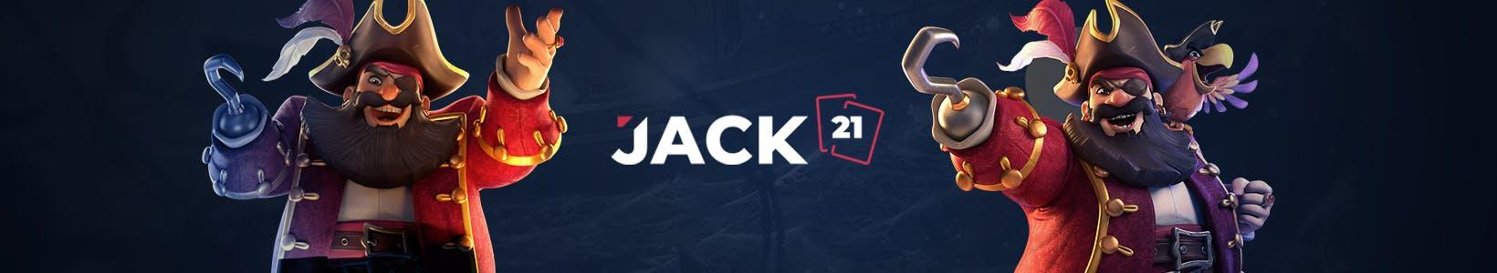 banniere promotionnelle jack21 casino par kagino