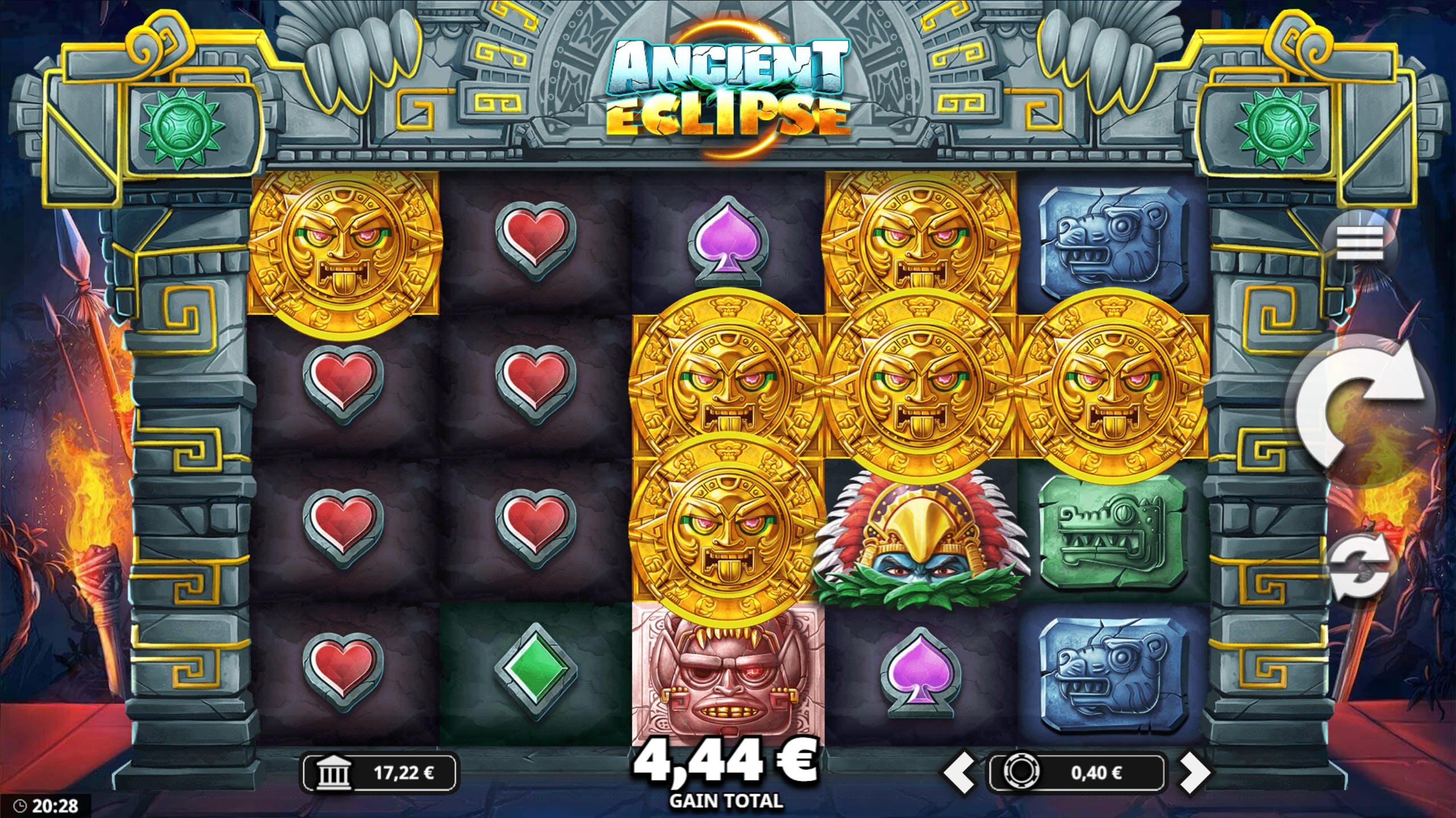 ancient eclipse gameplay sticky wilds casino