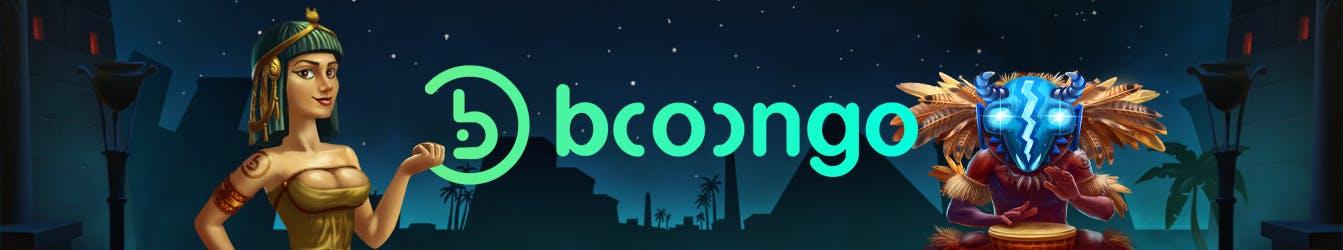 booongo bannière de publicité pour kagino