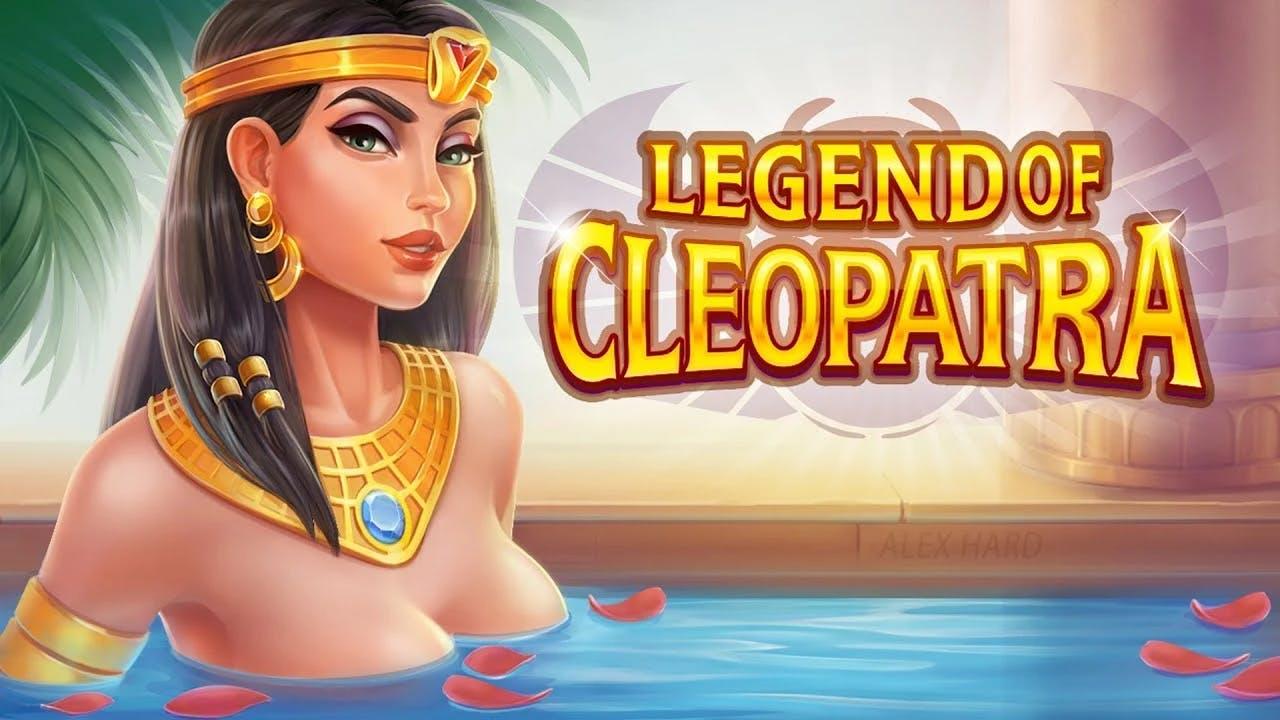 legend of cleopatra image de presentation de la slot de playson