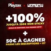 bonus de bienvenue sur PlayZax Kagino