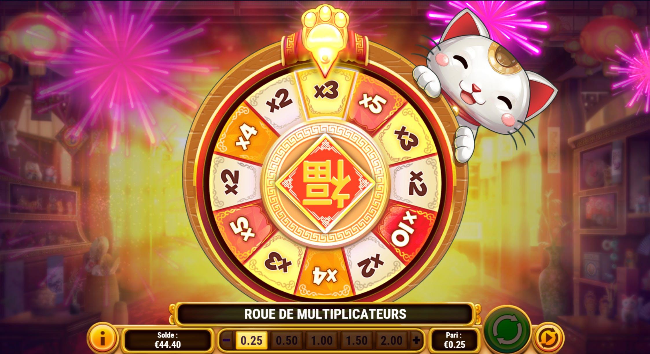 roue de la fortune big win cat playngo