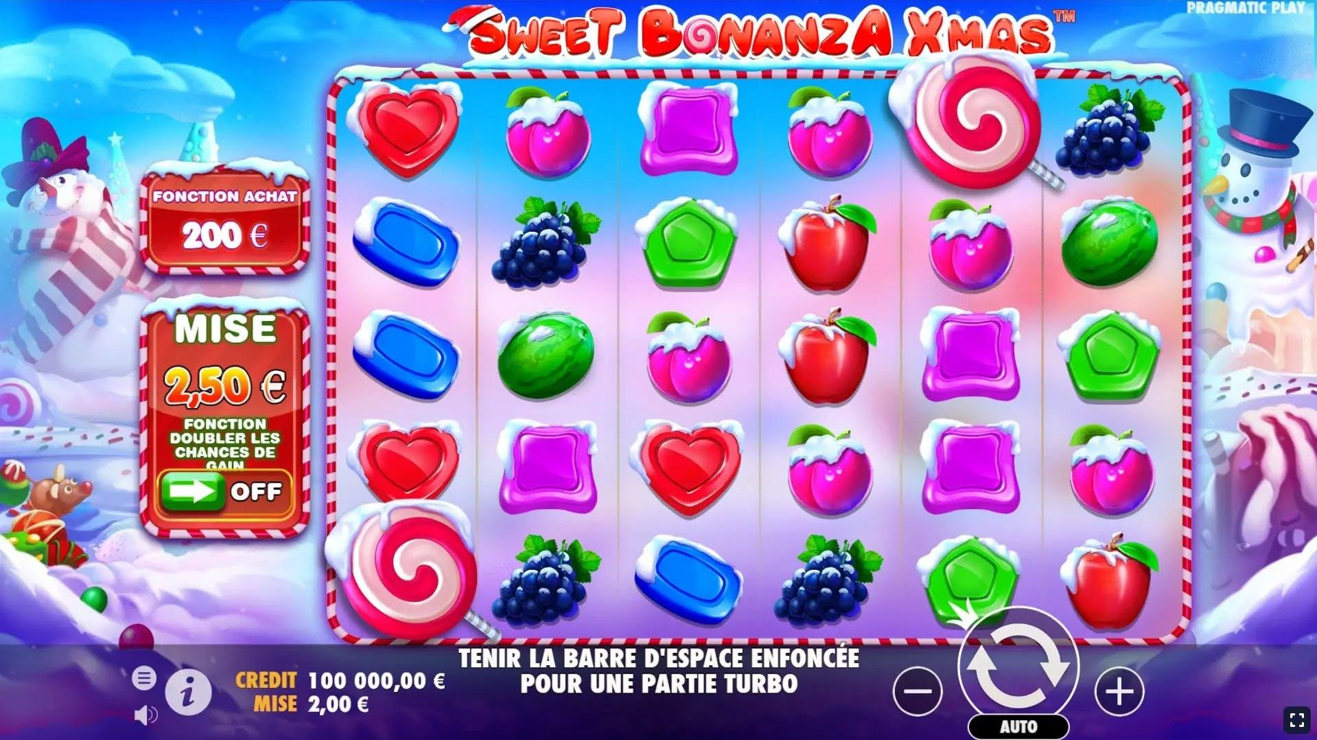 sweet bonanza xmas gameplay de pragmatic play