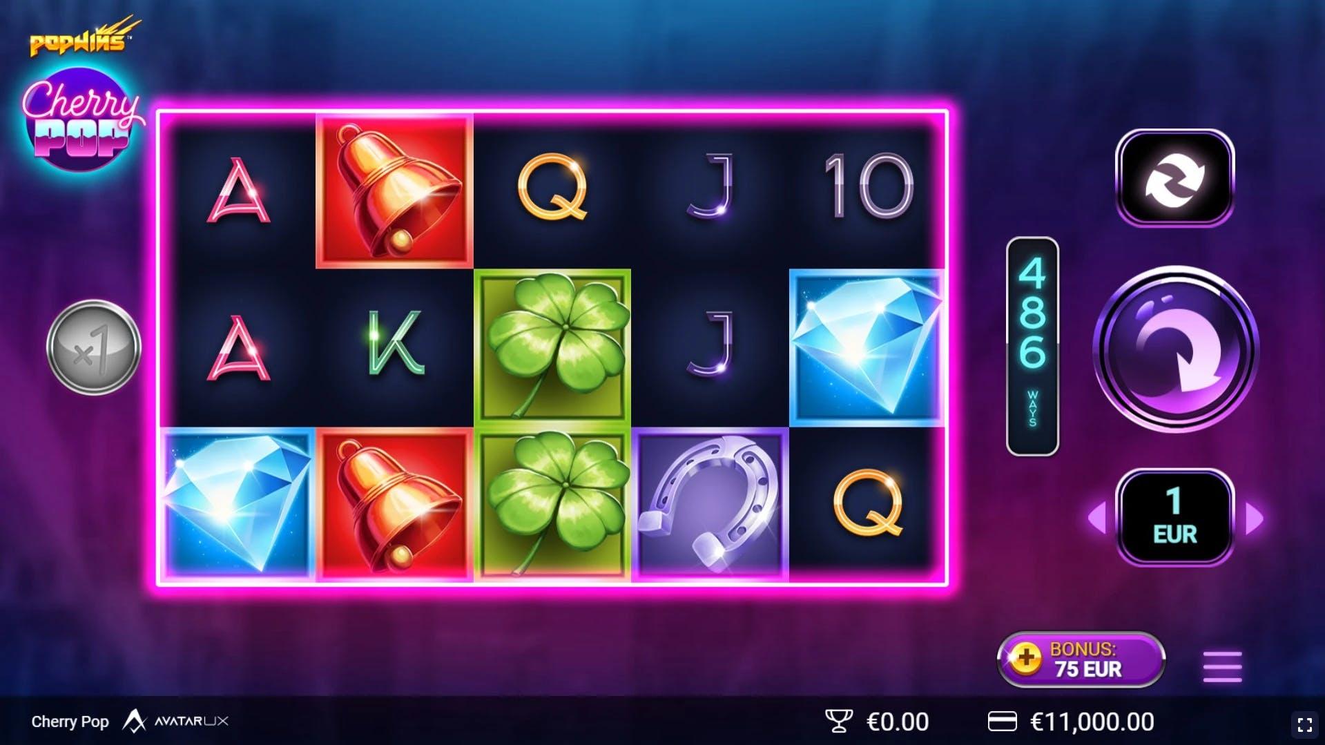 top slot cherry pop avatar ux et yggdrasil gameplay demo slot hd