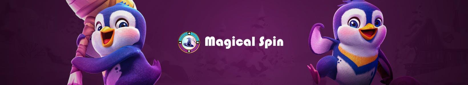 banniere promotionnelle originale magical spin par kagino fr