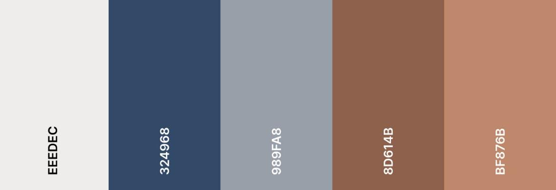 Sheriff Medical Center color palette