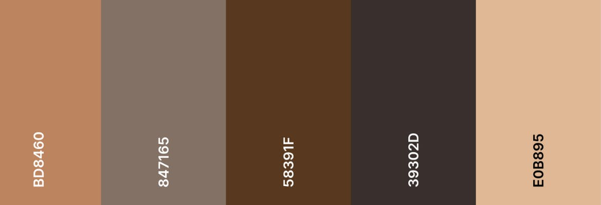 Sheriff Investments color palette