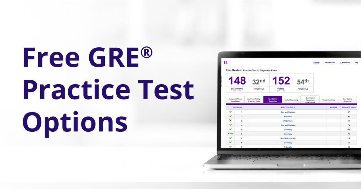 free practice gre test online full