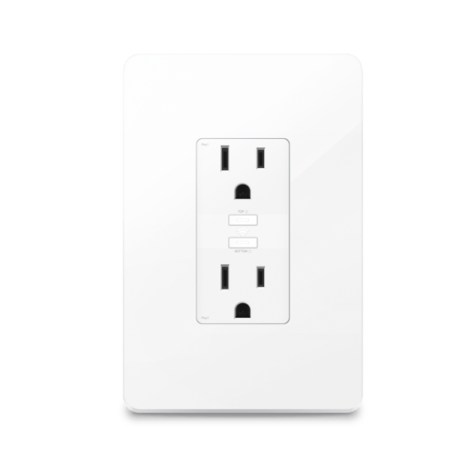 Kasa Smart Wi-Fi Power Outlet, 2-Sockets