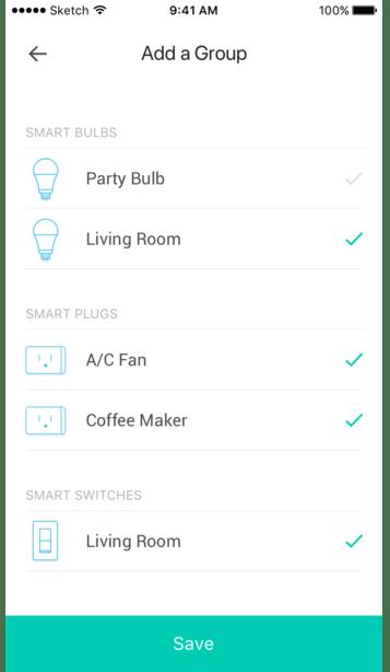 add group, device list, step 3