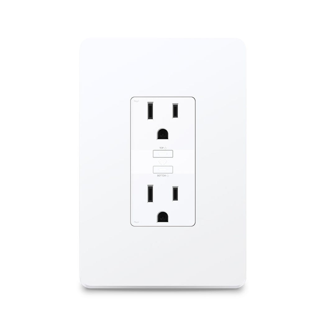 Kasa Smart Wi-Fi Power Outlet hero product image