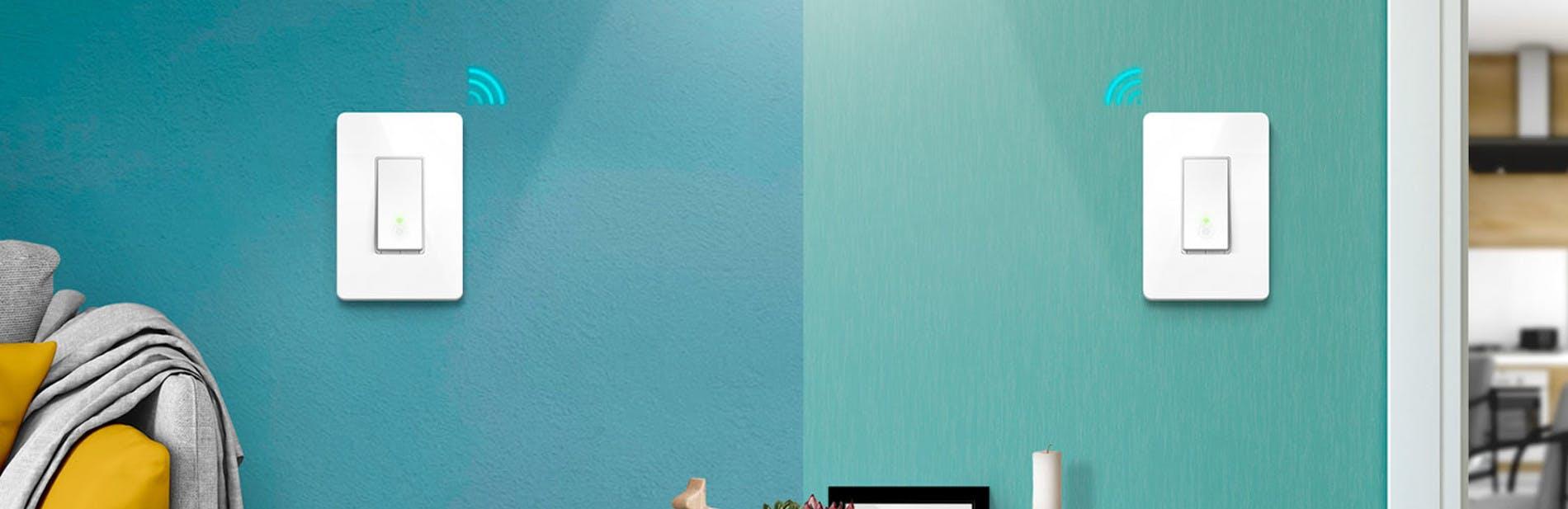 Kasa Smart Wi-Fi Light Switch 3 Way Product Banner