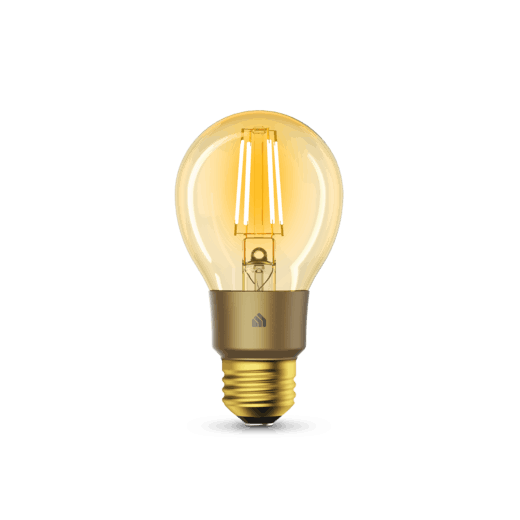 Kasa Filament Smart Bulb, Warm Amber