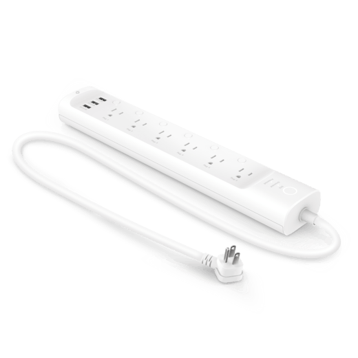 Kasa Smart Wi-Fi Power Strip, 6-Outlets