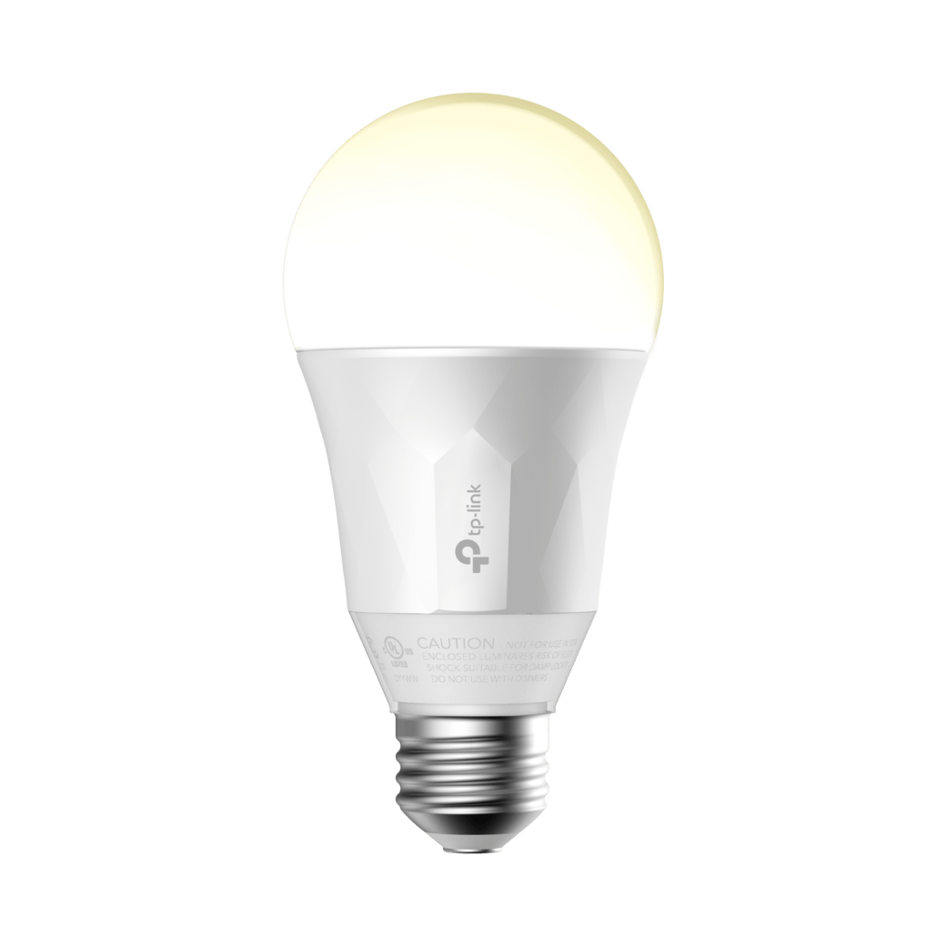 Kasa Smart Wi-Fi LED Light Bulb, White-gallery image