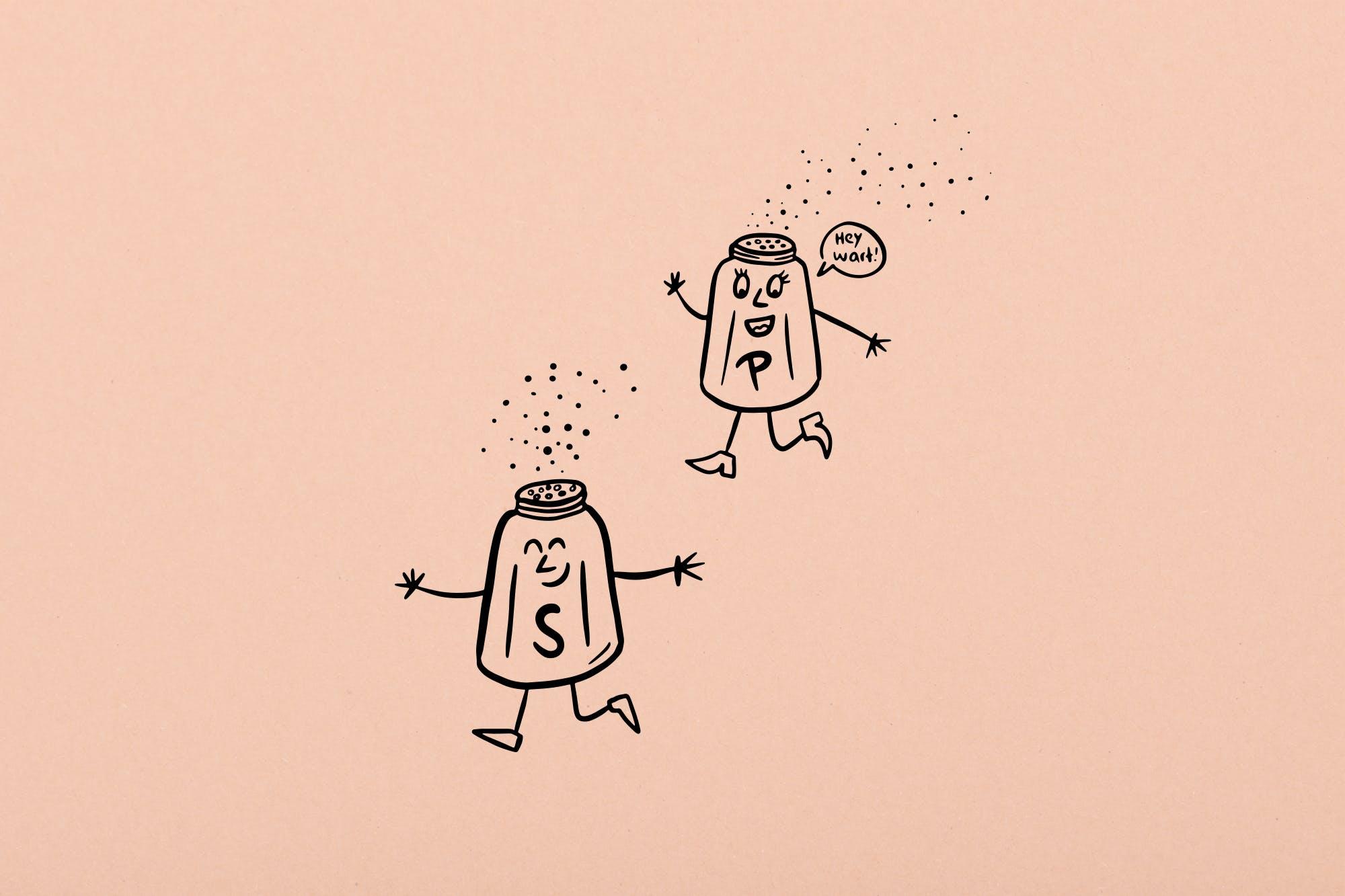 tibits illustration