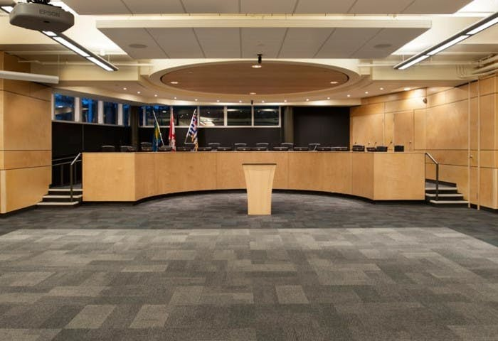 Burnaby Central Secondary Meeting Hall Photo 3
