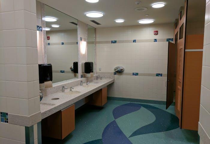 YVR ITB Gate 71 Washroom Renovation Photo 0
