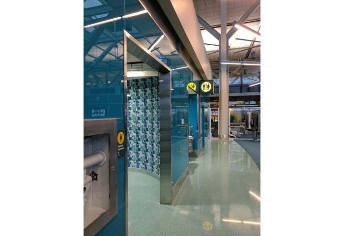 YVR ITB Gate 71 Washroom Renovation Photo 1