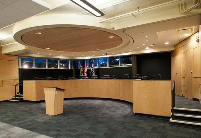 Burnaby Central Secondary Meeting Hall Photo 1