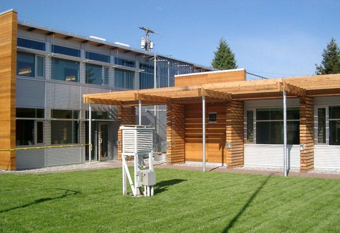 White Rock Operations Building - LEED Gold Project Photo 1