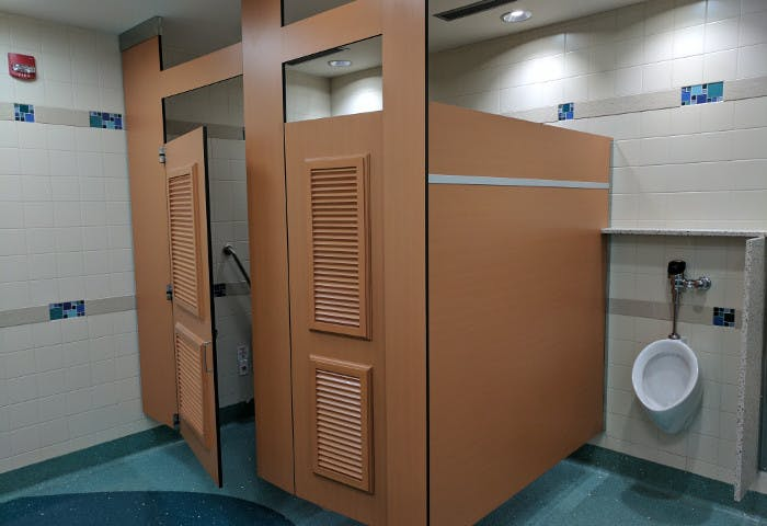 YVR ITB Gate 71 Washroom Renovation Photo 2