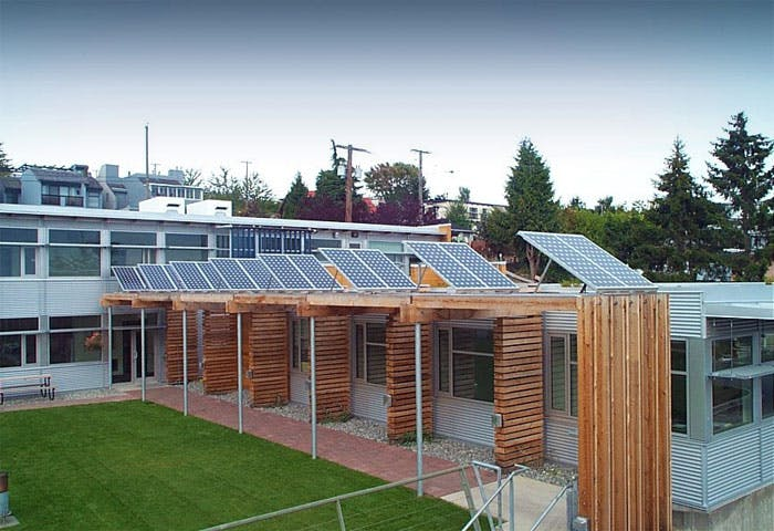 White Rock Operations Building - LEED Gold Project Photo 2