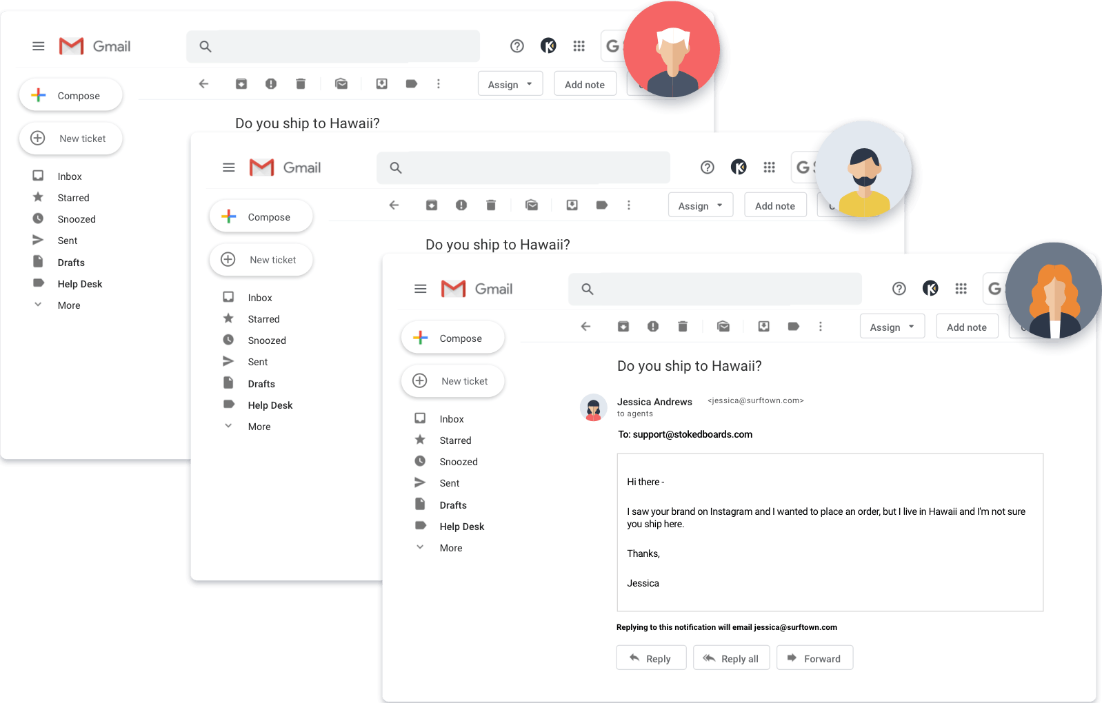 Add Collaboration to Email